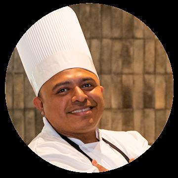 Chef Nicolás Sanchez Aurelio