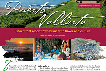 Beachfront resort town brims with flavor and culture