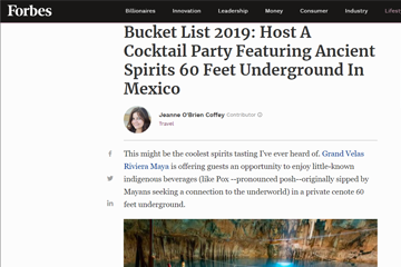 Bucket List 2019: Host A Cocktail Party Featuring Ancient Spirits 60 Feet Underground In Mexico