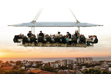 Casa Velas to Offer Dinner in the Sky Experience