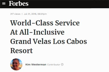 World-Class Service At All-Inclusive Grand Velas Los Cabos Resort