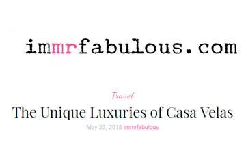 The Unique Luxuries of Casa Velas