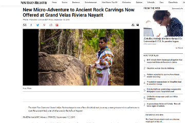New Micro-Adventure to Ancient Rock Carvings Now Offered at Grand Velas Riviera Nayarit