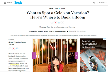 Want to Spot a Celeb on Vacation? Here's Where to Book a Room