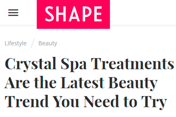 Crystal Spa Treatments Are the Latest Beauty Trend You Need to Try