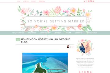 Honeymoon Hotlist 2019   UK WEDDING BLOG