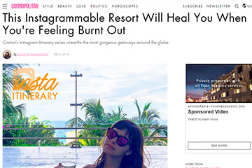 This Instagrammable Resort Will Heal You When You're Feeling Burnt Out