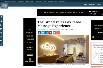 The Grand Velas Los Cabos Massage Experience