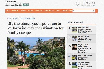 Oh, the places you will go! Puerto Vallarta is perfect destination for family escape
