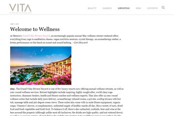 Welcome to Wellness
