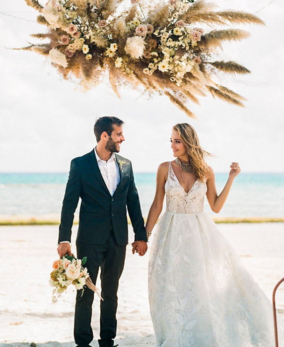 Impresionantes bodas de destino en México
